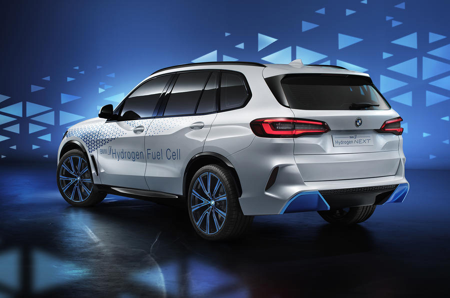 Bmw I Hydrogen Next Concept Previews Fuel Cell Range Autocar