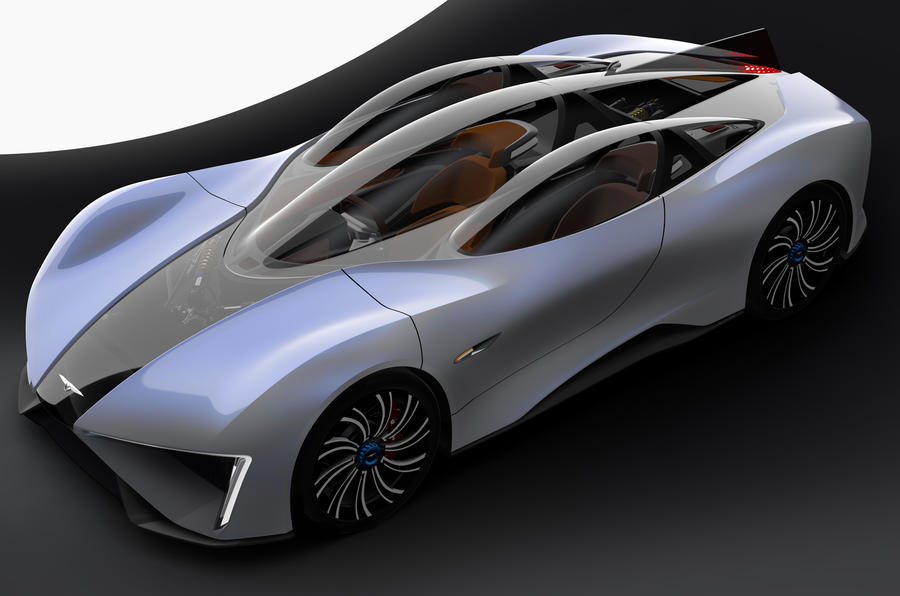 1287bhp Techrules Ren – Chinese turbine electric supercar revealed