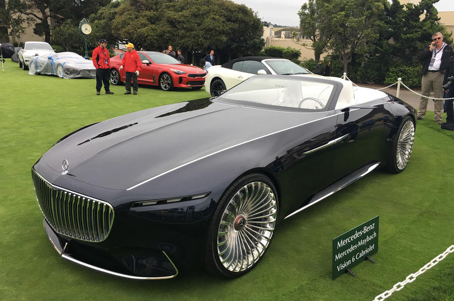 Electric mercedes maybach 6 cabriolet concept car revealed for Maybach 6 cabriolet