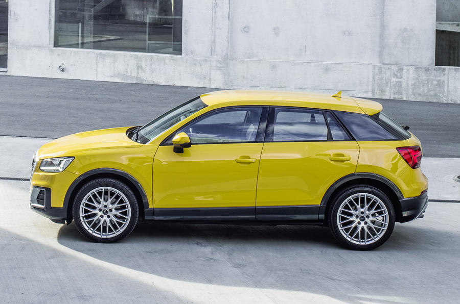 range topping 187bhp audi q2 2 0 tfsi quattro revealed autocar. Black Bedroom Furniture Sets. Home Design Ideas