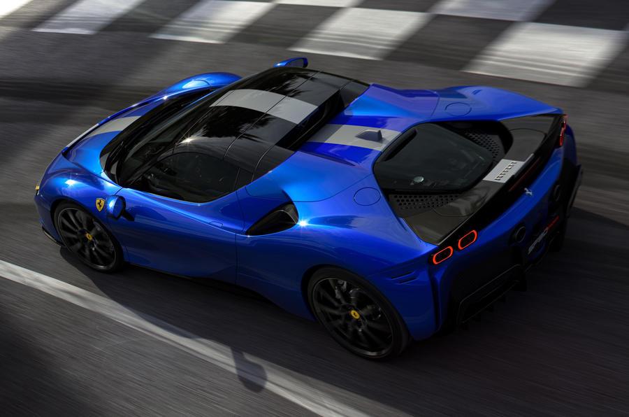 2020 Ferrari SF90 Spider - rear