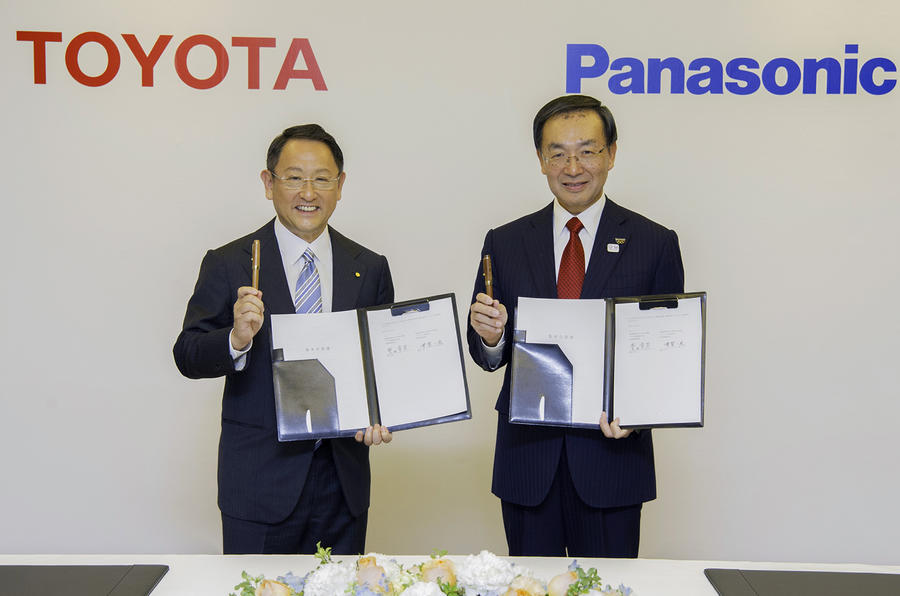 Panasonic shares rise on news of Toyota battery partnership