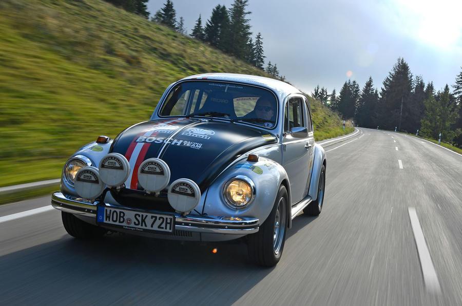 Volkswagen Beetle retro conversion