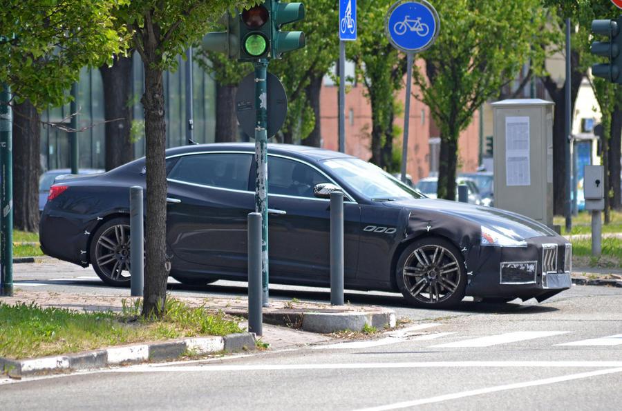 2017 Maserati Quattroporte To Get Subtle Facelift Autocar