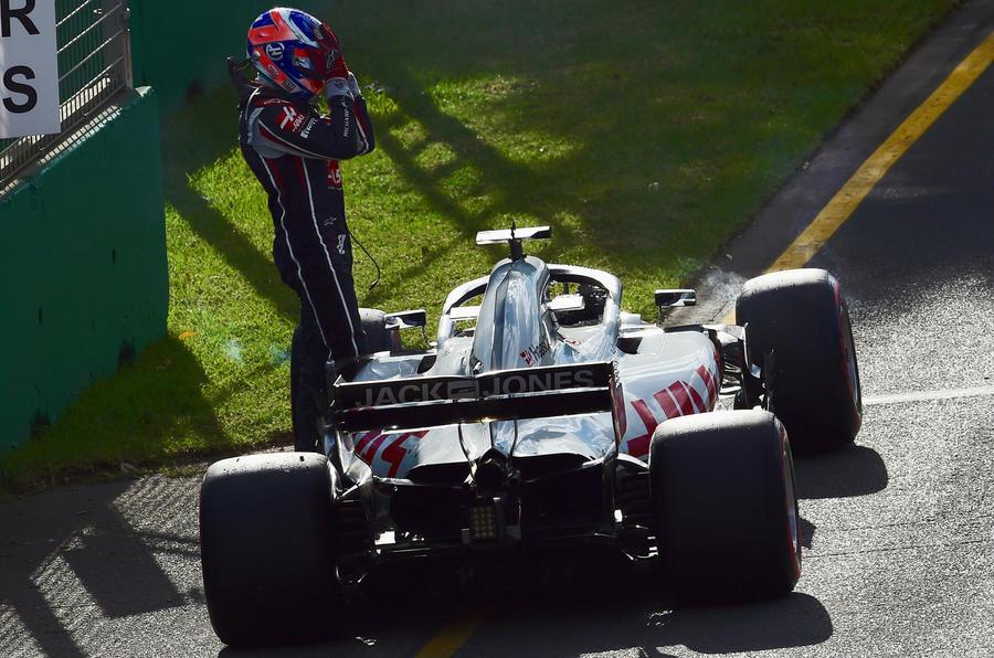 Australian GP Haas