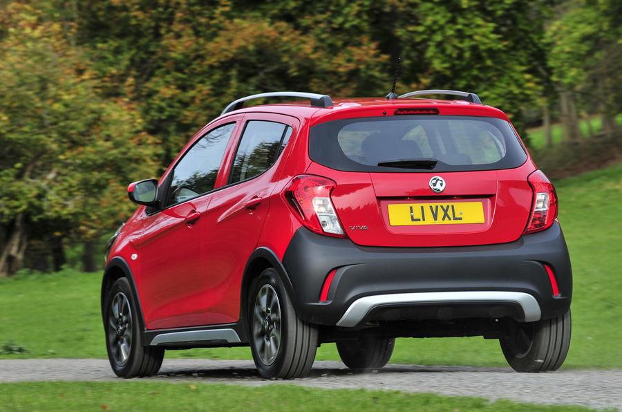 Vauxhall Viva Rocks rear quarter
