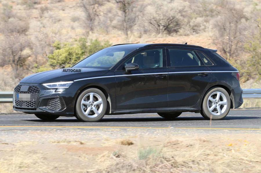 2020 Audi A3 Review.New Audi A3 Seen Undisguised Ahead Of Early 2020 Launch