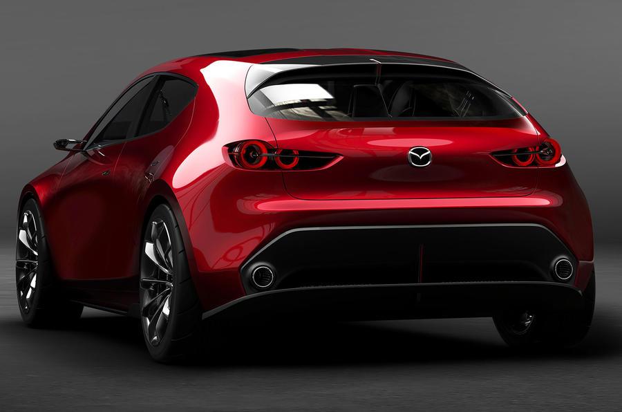 Mazda Kai concept previews new 3 hatch for 2019