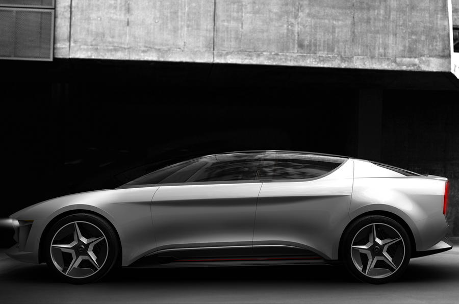 New Giugiaro Sibylla concept uses front canopy and rear gullwing doors