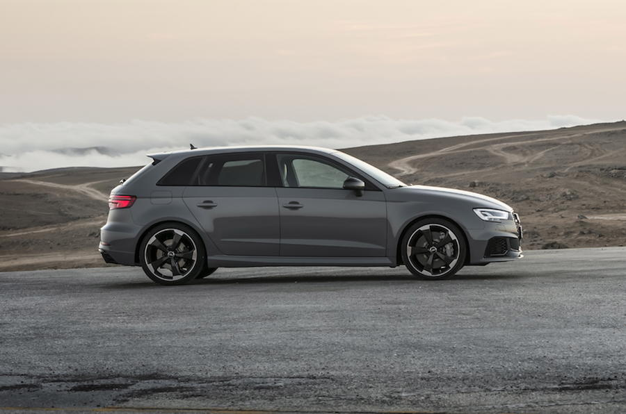 Audi RS3 Sportback side profile