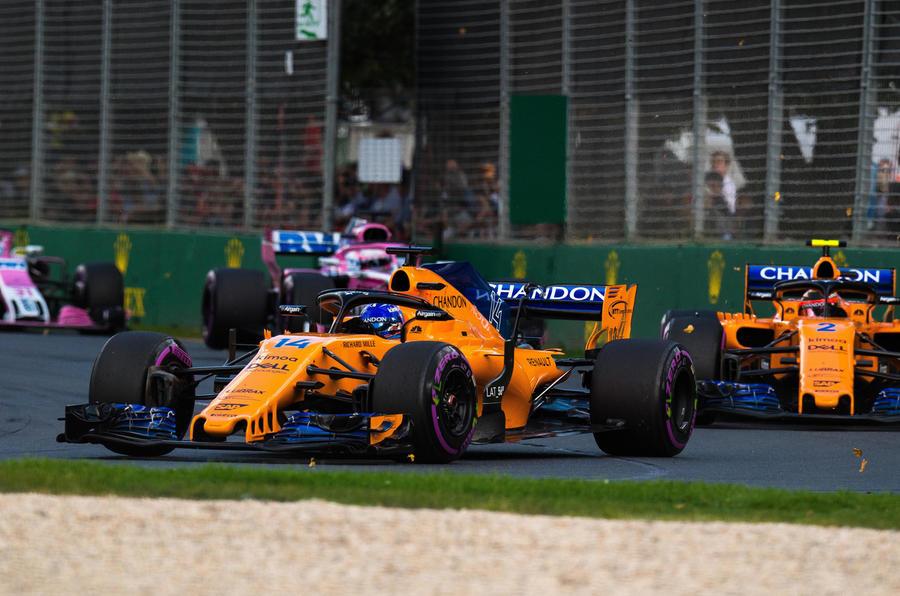 Australian GP Alonson