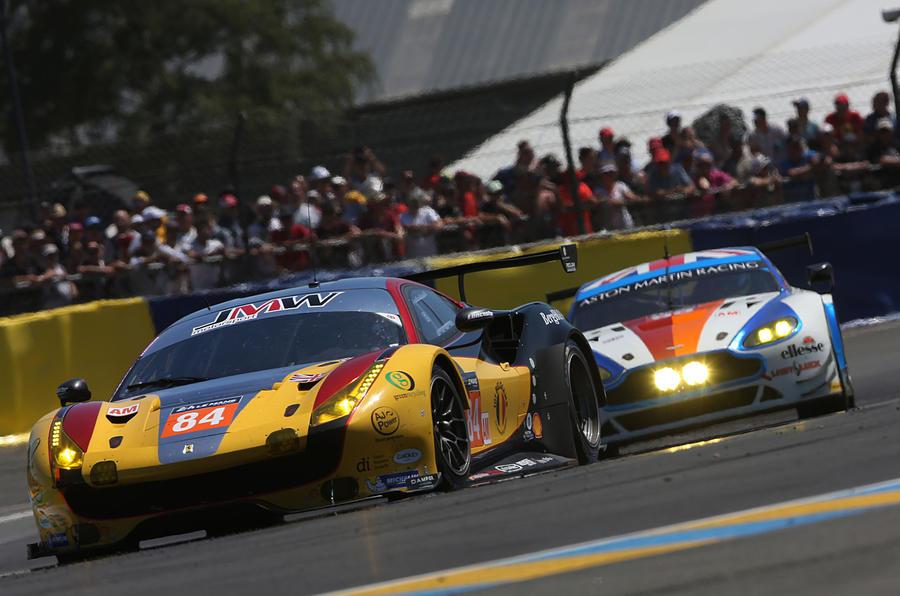 JMW Motorsport Ferrari Le Mans 2017