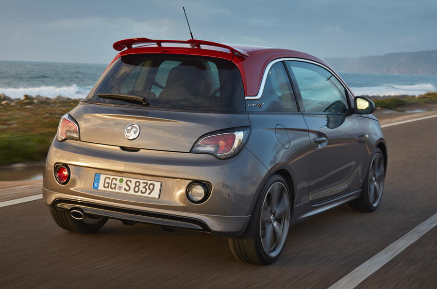 Vauxhall Adam Grand Slam rear