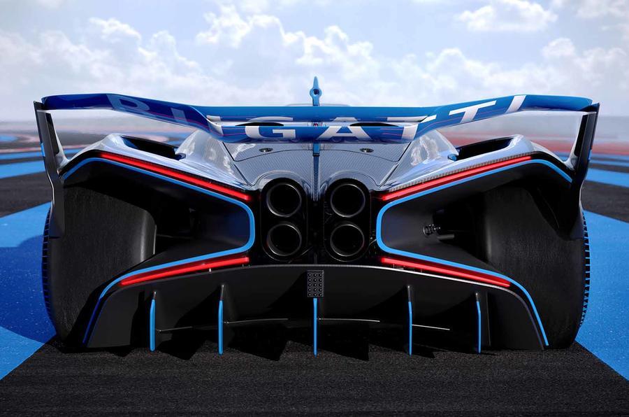 Bugatti Bolide rear close