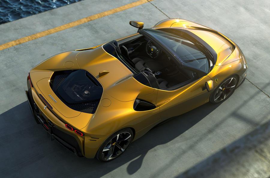 2020 Ferrari SF90 Spider - top