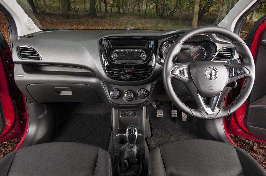 Vauxhall Viva Rocks interior