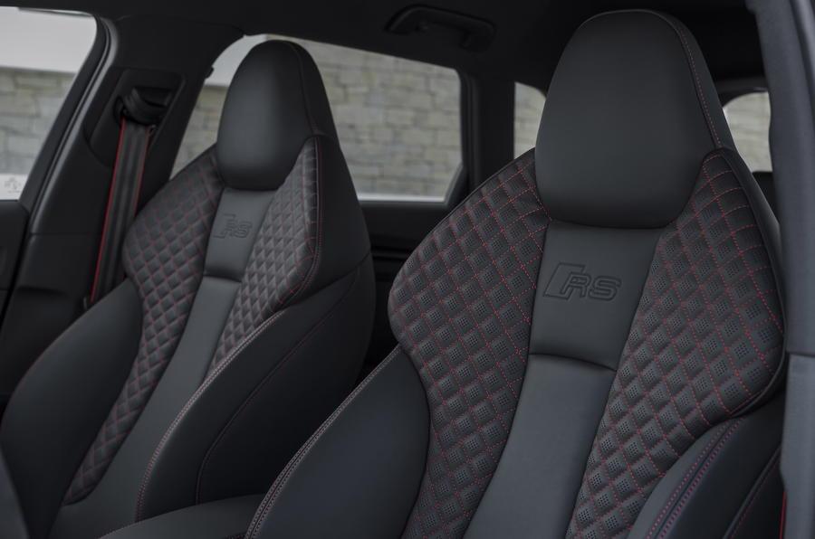 Audi RS3 Sportback sports seats