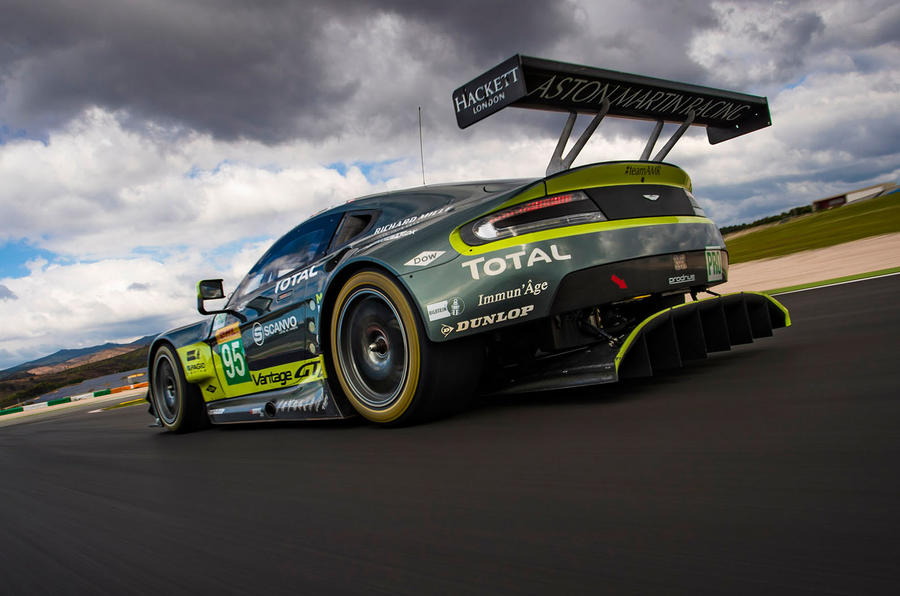 wec 2017 preview: driving an aston martin v8 vantage gte racer