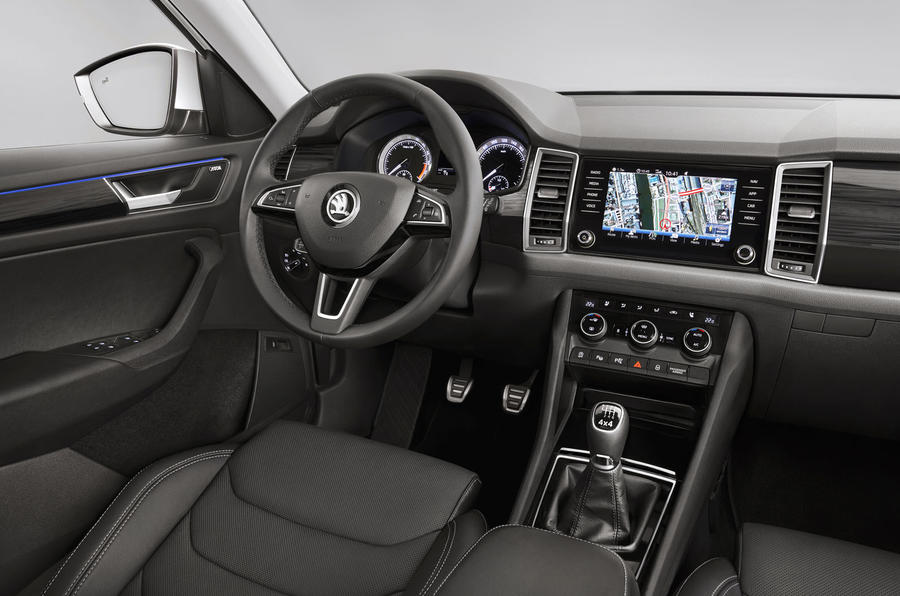 Skoda Reveals The Premium Interiors Of Kodiaq SUV In New Teaser