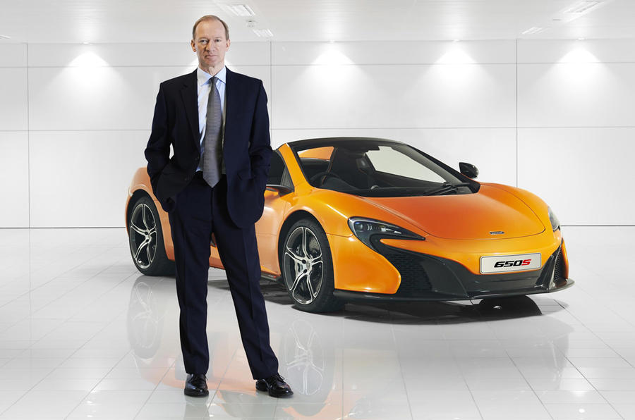 McLaren boss Mike Flewitt on its new UK manufacturing facility