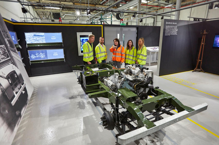 Land Rover Classic opens factory doors for Reborn Tour