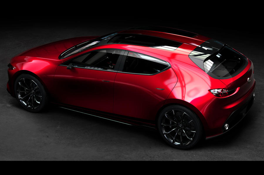 Mazda Kai concept previews new 3 hatch for 2019