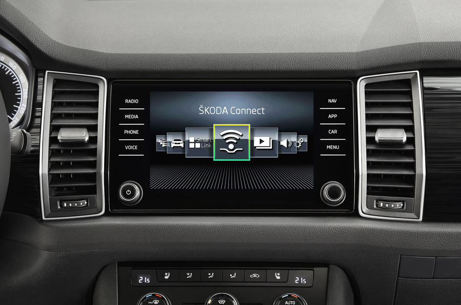 Skoda Kodiaq interior revealed ahead of Berlin debut