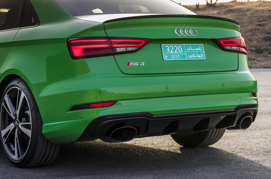 Audi RS3 Saloon rear lights