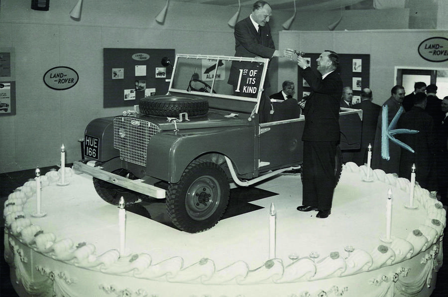 Land Rover celebrates 70th birthday with special celebration