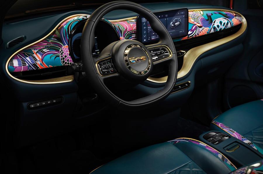 Fiat 500 Mai Troppo - interior