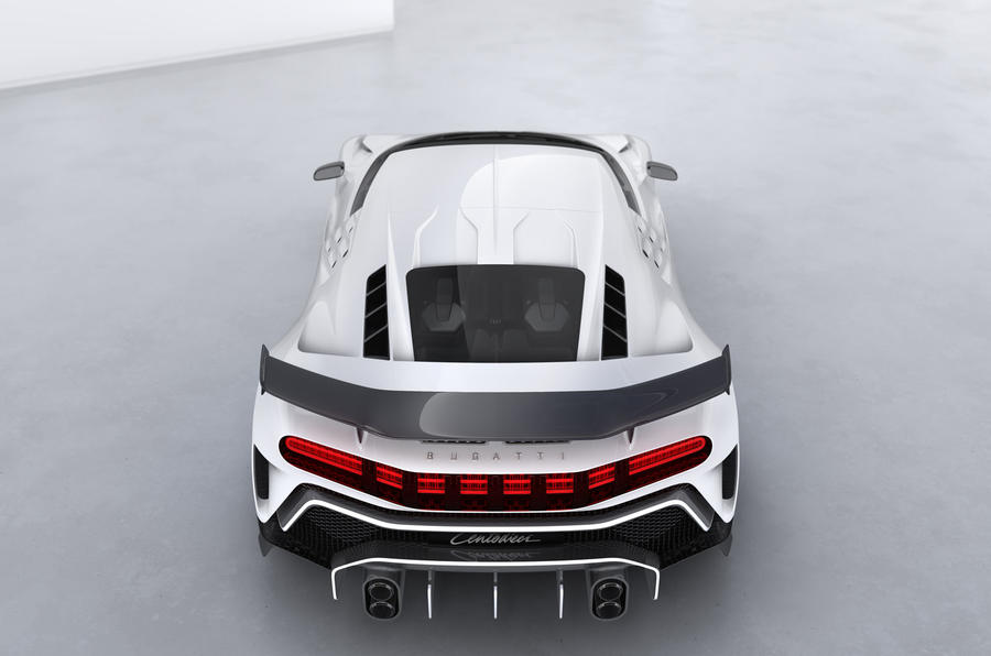 2020 Bugatti Centodieci reveal - rear