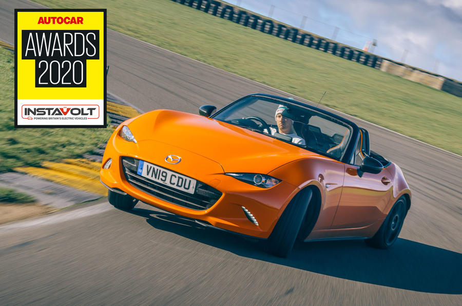 Autocar awards 2020: Mazda MX-5 - Best affordable driver's car winner
