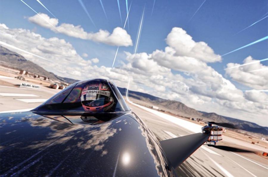 Airspeeder - taking off