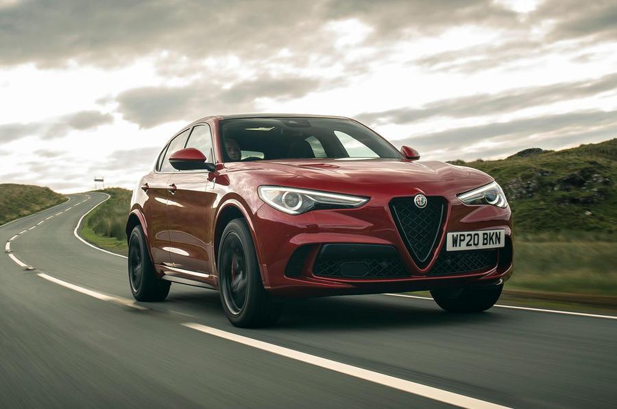 Alfa Romeo Stelvio Quadrifoglio 2020 : premier bilan de la conduite au Royaume-Uni - le front des héros