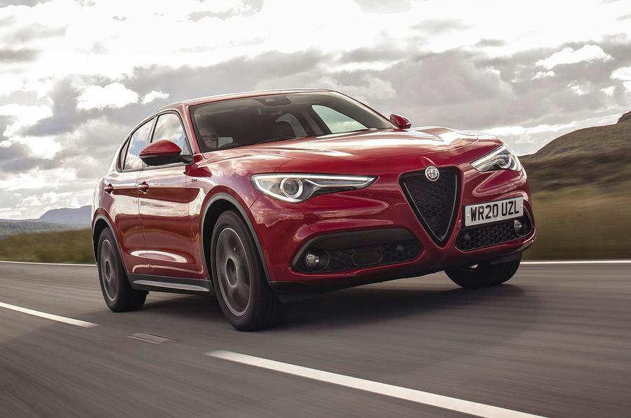 Alfa Romeo Stelvio Sprint 2020 : premier bilan de la conduite au Royaume-Uni - le front des héros