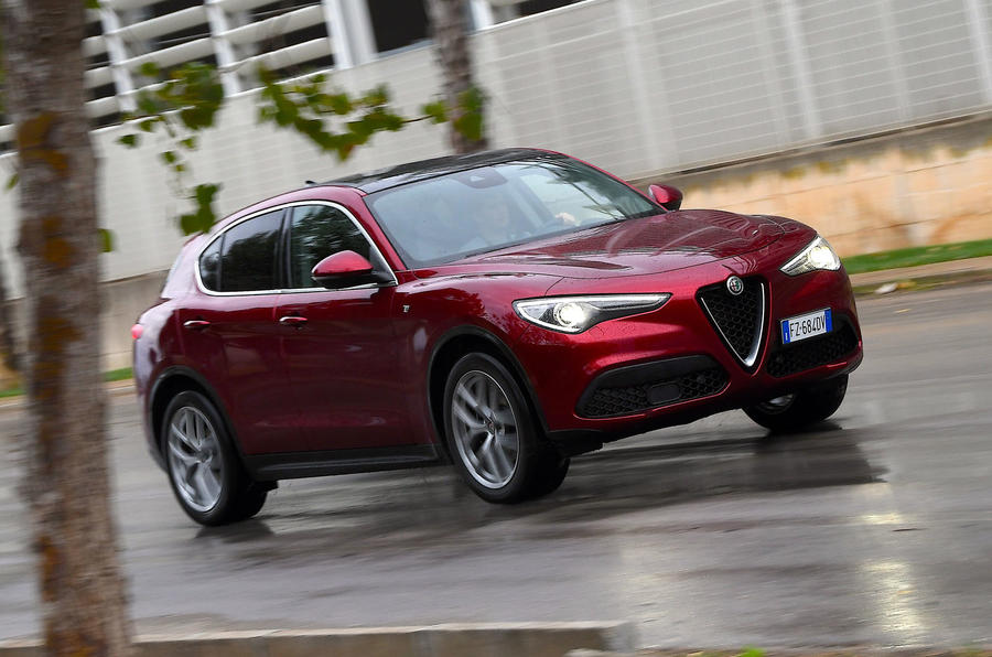 Alfa Romeo Stelvio Ti 2019 first drive review - hero front