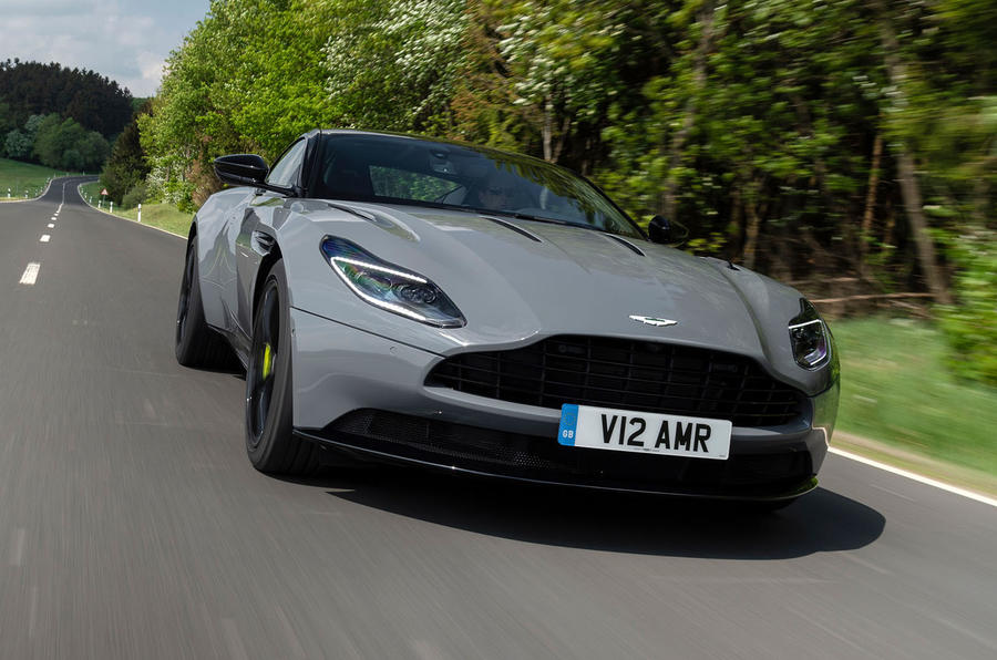 Aston Martin DB11 AMR 2018 review hero front