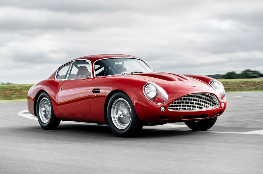 Aston Martin DB4 Zagato Continuation 2019 first drive review - hero front
