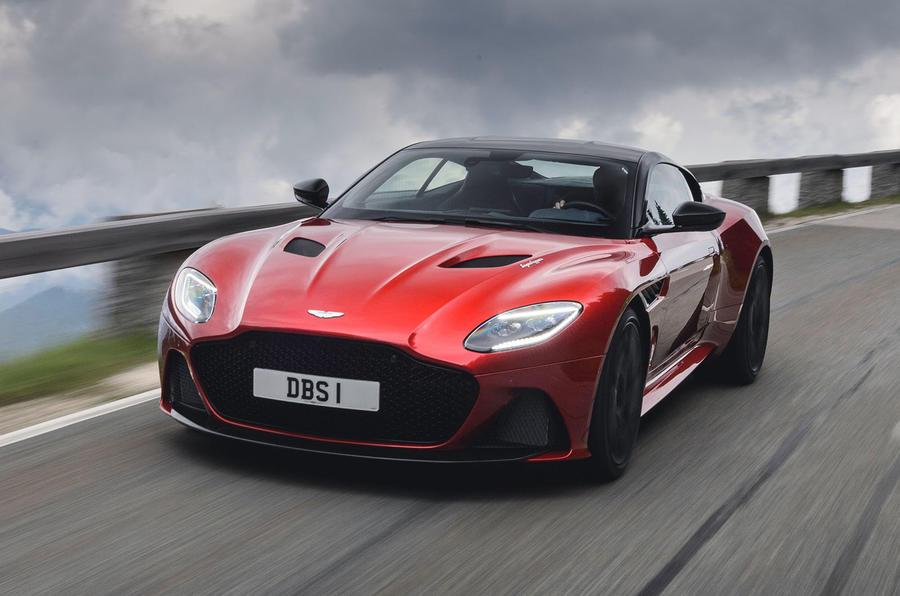 Aston Martin DBS Superleggera 2018 first drive review hero front