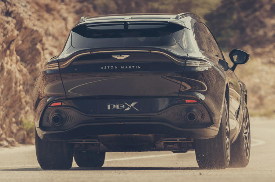 Aston Martin DBX - hero rear