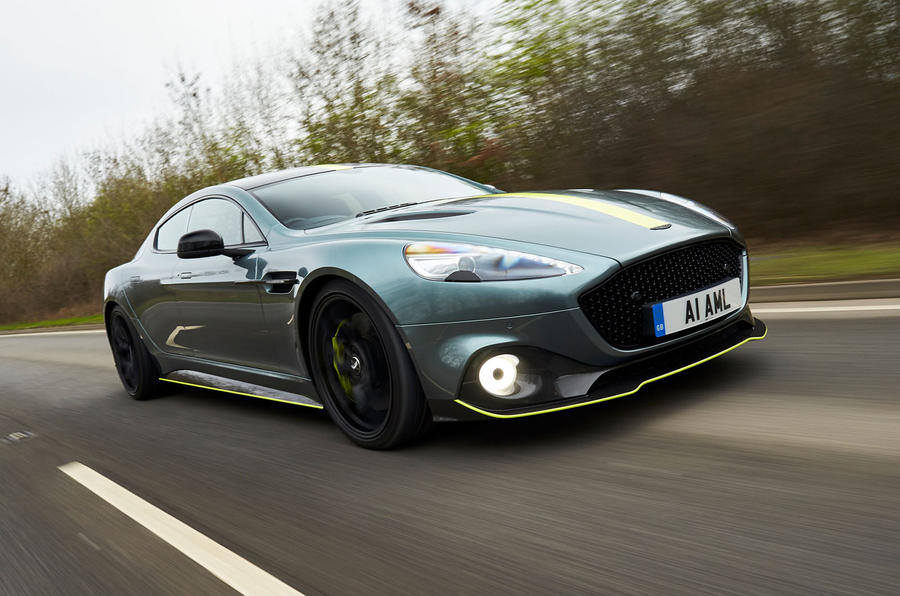 Aston Martin Rapide AMR 2019 UK first drive review - hero front