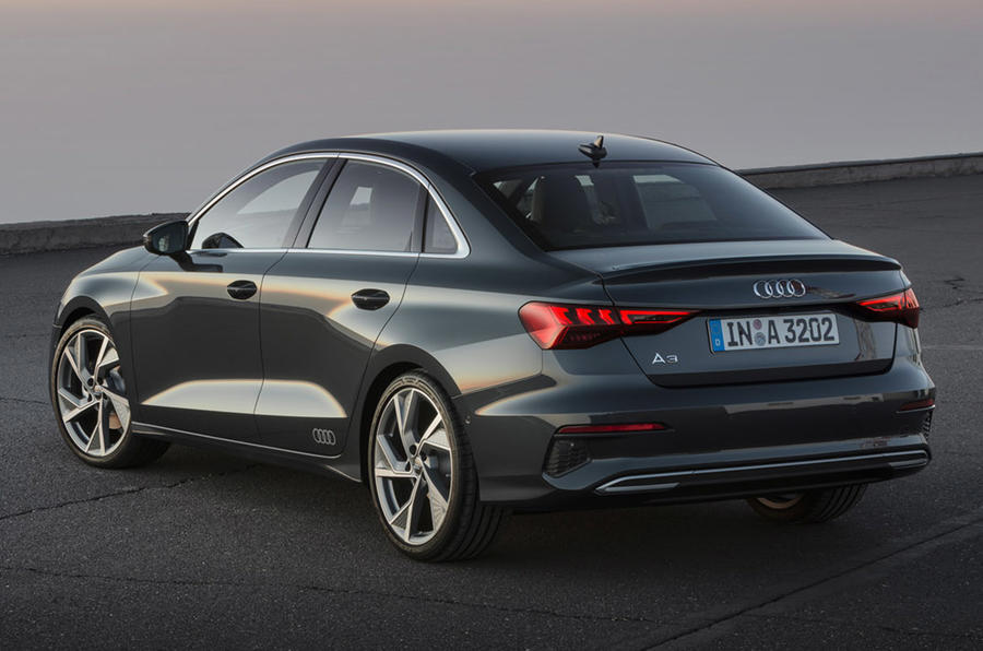 New Audi A3 saloon gets mild hybrid and coupe looks | Autocar