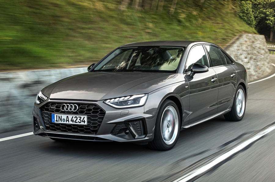Audi A4 2019 first drive review - hero front