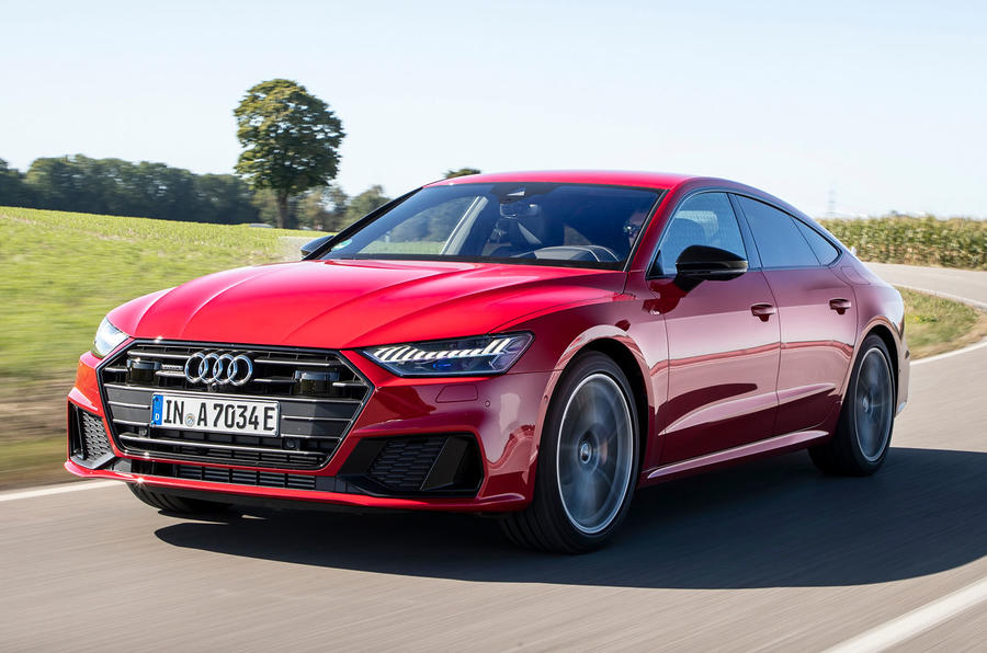 Audi A7 TFSI e 2019 first drive review - hero front