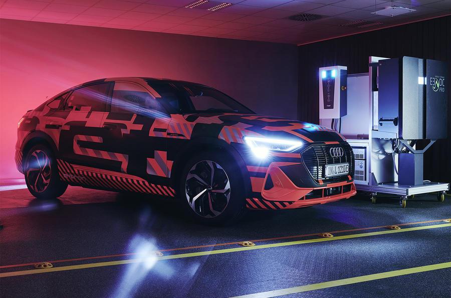 Audi bidirectional charging