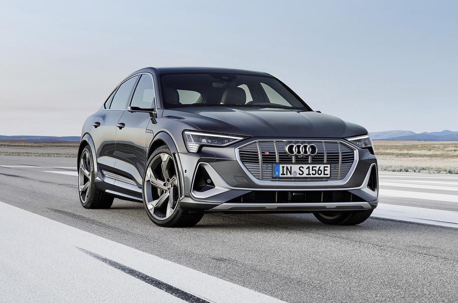 Audi E-tron S - hero front