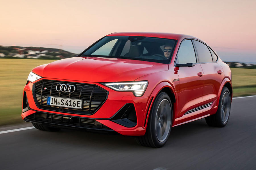 Audi E-tron S Sportback 2020 first drive review - hero front