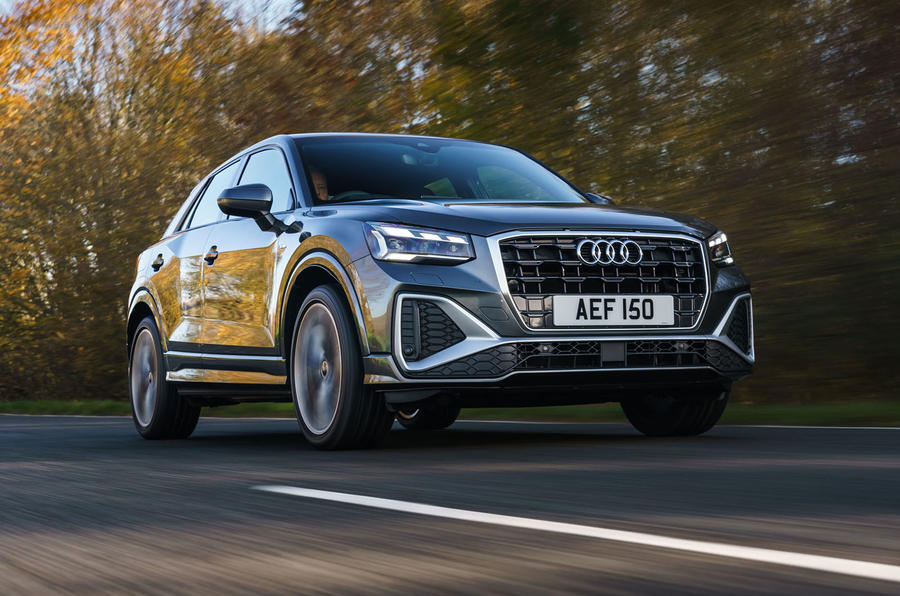 Audi Q2 35 TFSI Sport 2020 UK first drive review - hero front