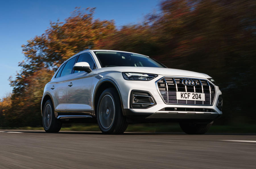 Audi Q5 40 TDI Sport 2020 UK first drive review - hero front
