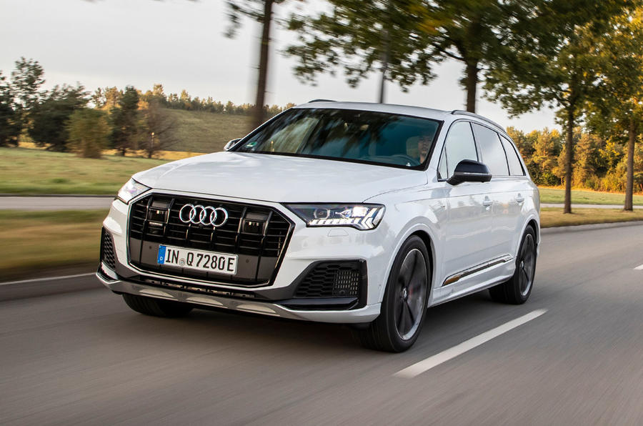 Audi Q7 TFSI e 2019 first drive review - hero front